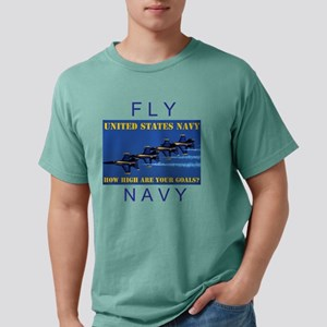 NAVY Mens Comfort Colors Shirt
