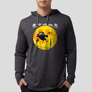 dra003black02 Mens Hooded Shirt