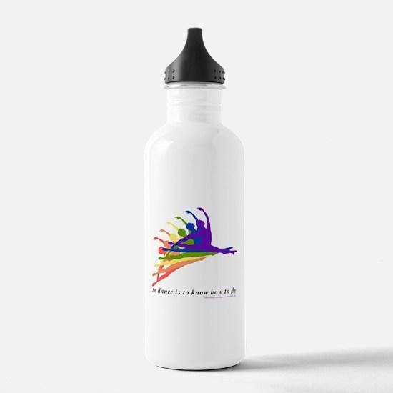 Rainbow Jete Water Bottle