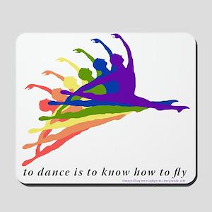 Rainbow Jete Mousepad