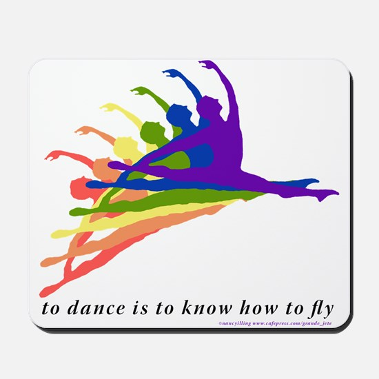 Rainbow Jete Mousepad
