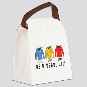 trekshirtsnew2 Canvas Lunch Bag