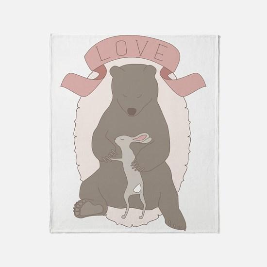 Bear Hug Throw Blanket