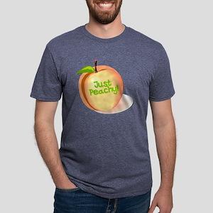 just peachy Mens Tri-blend T-Shirt