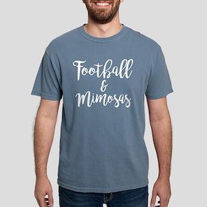Football and Mimosas Mens Comfort Colors Shirt