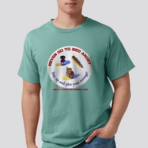 3-NeverGoToBed Mens Comfort Colors Shirt