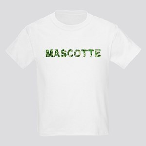 Mascotte, Vintage Camo, Kids Light T-Shirt