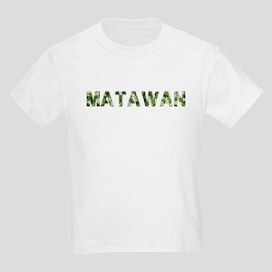 Matawan, Vintage Camo, Kids Light T-Shirt