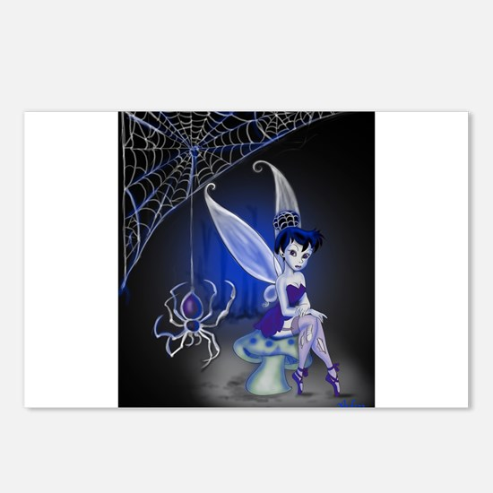 Spider Gothic Fairy Postcards (Package of 8)