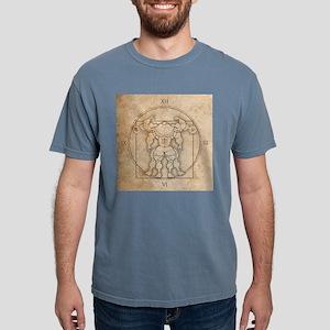 big_vitruv_clock Mens Comfort Colors Shirt