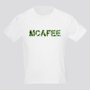 Mcafee, Vintage Camo, Kids Light T-Shirt