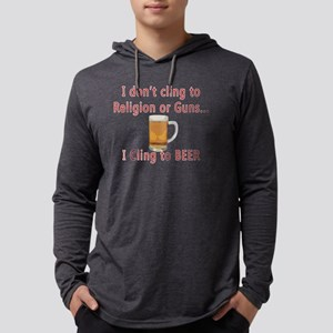 cling to beer Mens Hooded Shirt