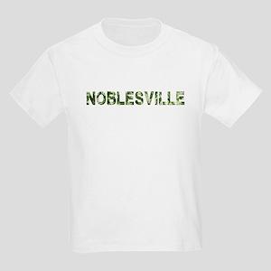 Noblesville, Vintage Camo, Kids Light T-Shirt