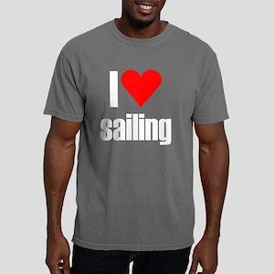 i heart sailing black.pn Mens Comfort Colors Shirt
