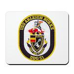 USS ARLEIGH BURKE Mousepad
