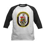 USS ARLEIGH BURKE Kids Baseball Jersey