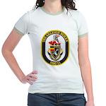 USS ARLEIGH BURKE Jr. Ringer T-Shirt