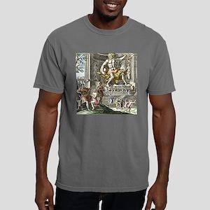 Statue of Zeus in Ancien Mens Comfort Colors Shirt