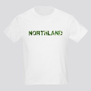 Northland, Vintage Camo, Kids Light T-Shirt