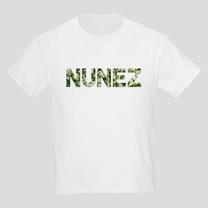 Nunez, Vintage Camo, Kids Light T-Shirt