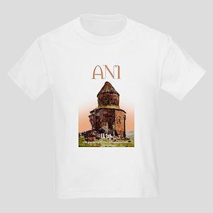 ANI, Armenian Capital Kids Light T-Shirt