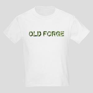 Old Forge, Vintage Camo, Kids Light T-Shirt