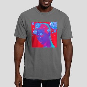Flu virus spreading, art Mens Comfort Colors Shirt