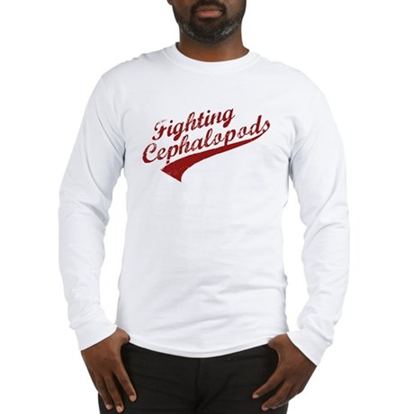 Miskatonic Fighting Cephalopods Long Sleeve Tee
