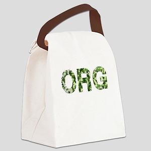Org, Vintage Camo, Canvas Lunch Bag