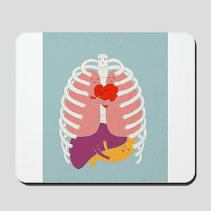 Hugs Keep Us Alive Mousepad