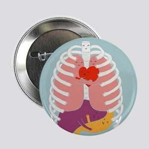 "Hugs Keep Us Alive 2.25"" Button"