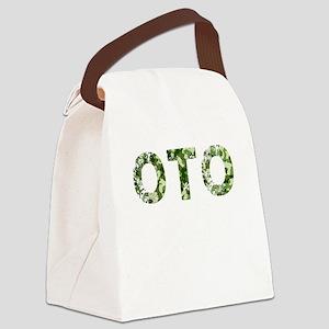 Oto, Vintage Camo, Canvas Lunch Bag
