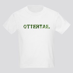 Ottertail, Vintage Camo, Kids Light T-Shirt