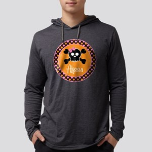 pinkskull_personalized Mens Hooded Shirt