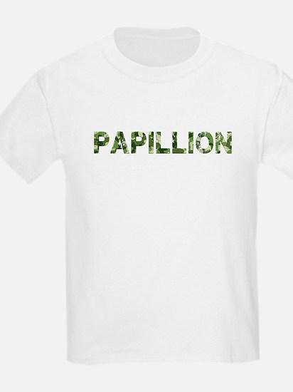 Papillion, Vintage Camo, T-Shirt