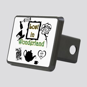 Lost in Wonderland Rectangular Hitch Cover