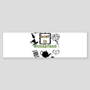 Lost in Wonderland Sticker (Bumper)