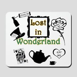 Lost in Wonderland Mousepad