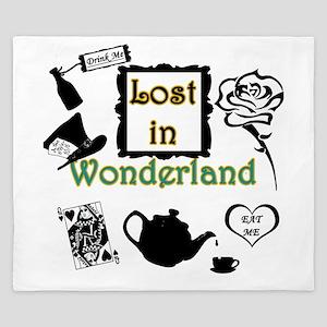 Lost in Wonderland King Duvet