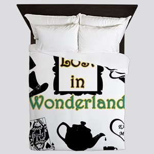 Lost in Wonderland Queen Duvet