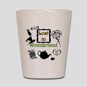 Lost in Wonderland Shot Glass