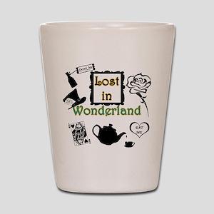 Lost in Wonderland Shot Glass
