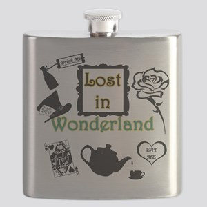 Lost in Wonderland Flask