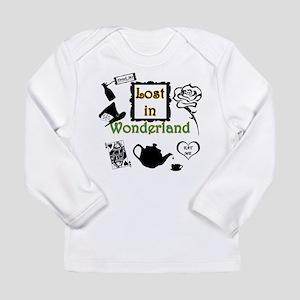 Lost in Wonderland Long Sleeve Infant T-Shirt