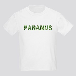 Paramus, Vintage Camo, Kids Light T-Shirt