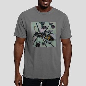 Wasp and blackberries Mens Comfort Colors Shirt