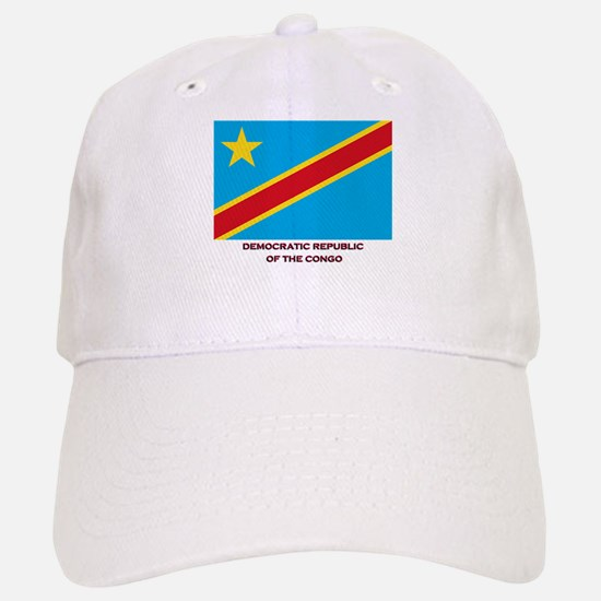 The Democratic Republic Of The Congo Flag Gear Baseball Baseball Cap
