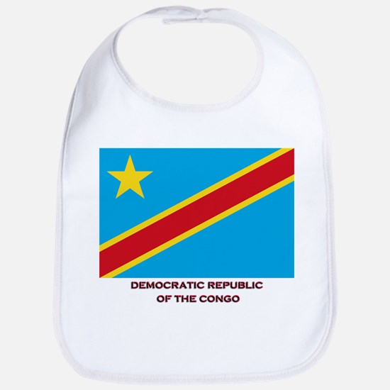 The Democratic Republic Of The Congo Flag Gear Bib