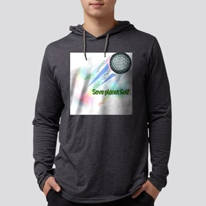 planetgolf-light Mens Hooded Shirt