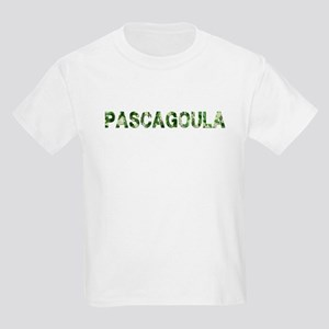 Pascagoula, Vintage Camo, Kids Light T-Shirt